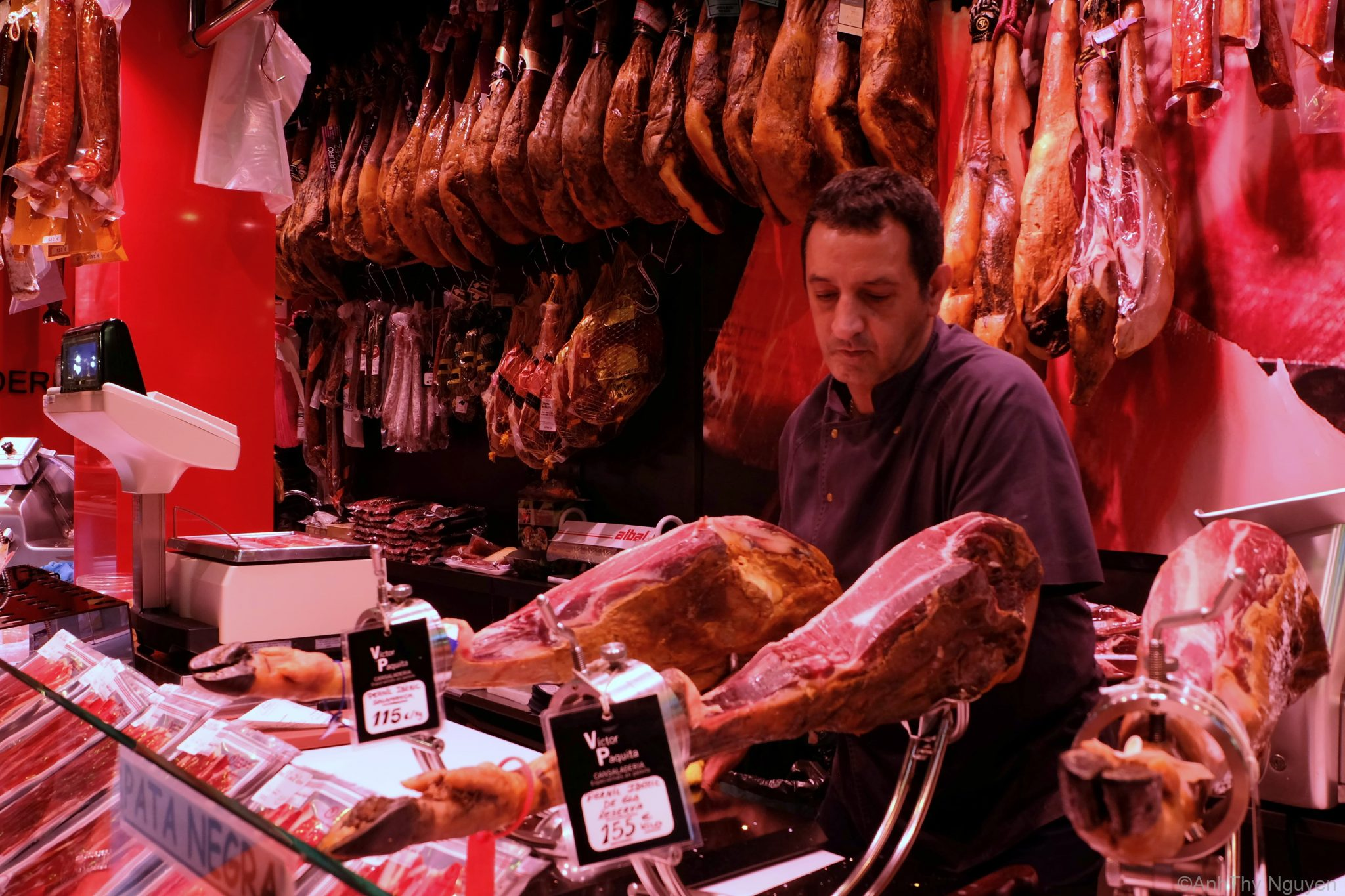 Doing business in La Boqueria Food Market