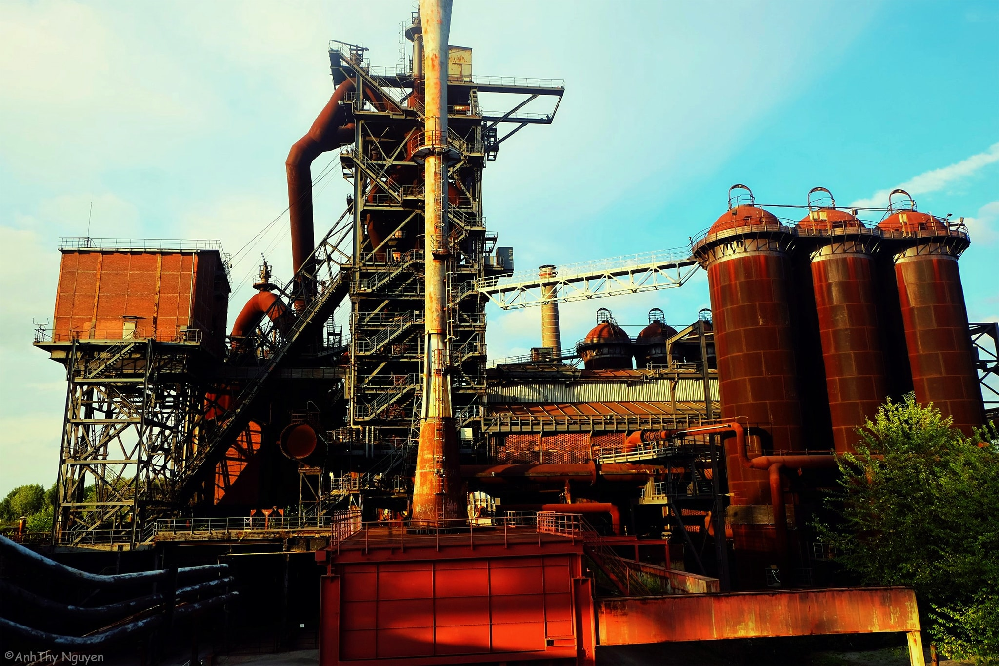 German Placeworthvisiting - North Duisburg Landscape Park - Meiderich Ironworks